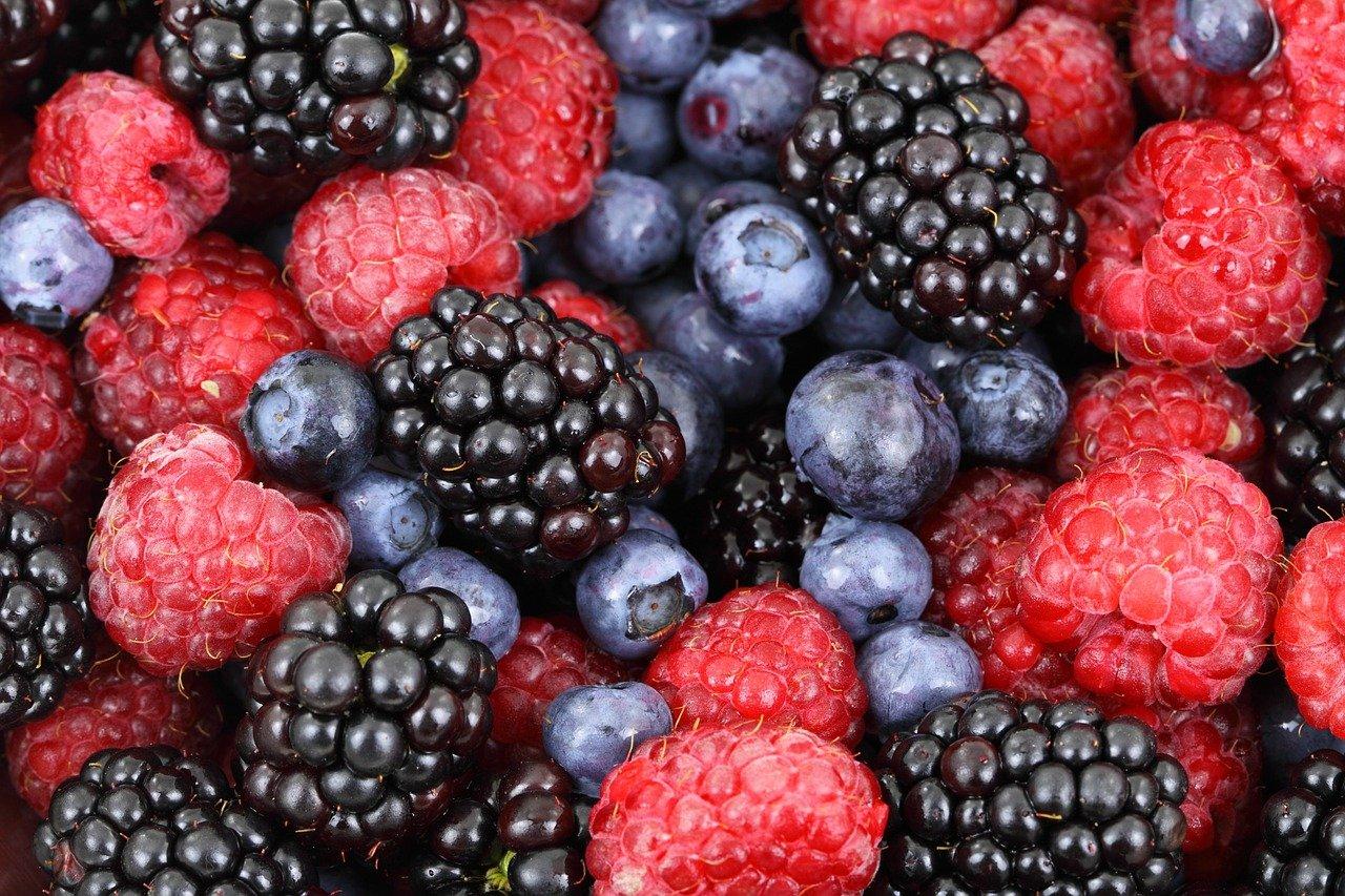Mousse de fruits rouges